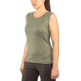 Schöffel Namur2 T-shirt zippé Femme, agave green